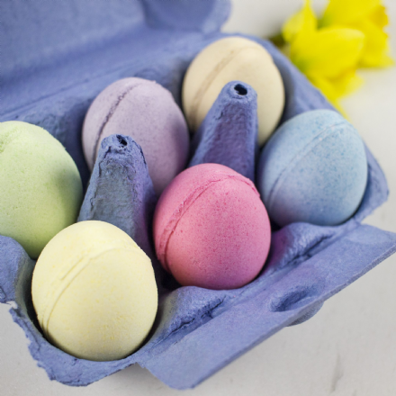 Box of Egg Bath Fizzies